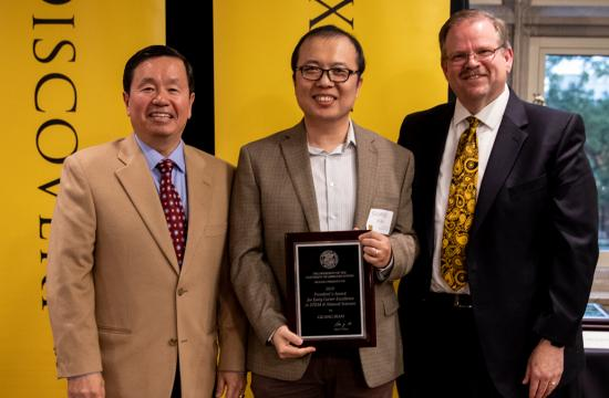 Prof. Guang Bian receives President's Award for Early Career Excellence